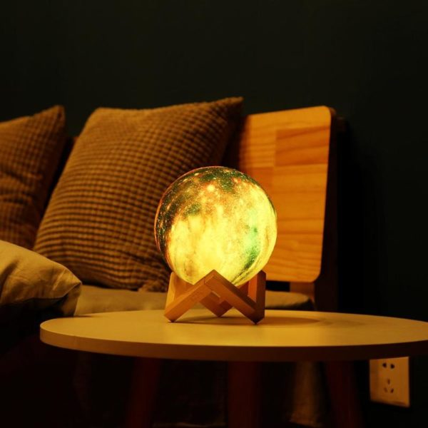 Lampe Veilleuse Galaxie table