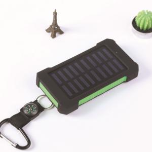 Batterie solaire double USB