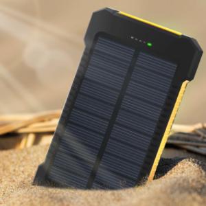 Batterie solaire double USB étanche
